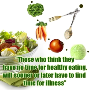 if you think you have no time for healthy eating